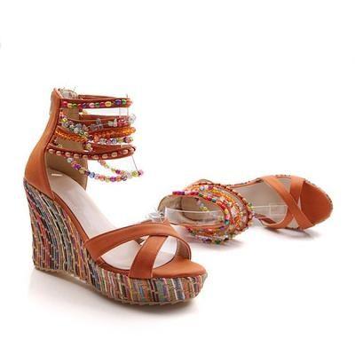 b6aedc8911b COSIDRAM New 2018 Summer Fashion Woman Sandals Shoes Bohemian Sandals -  chicmaxonline
