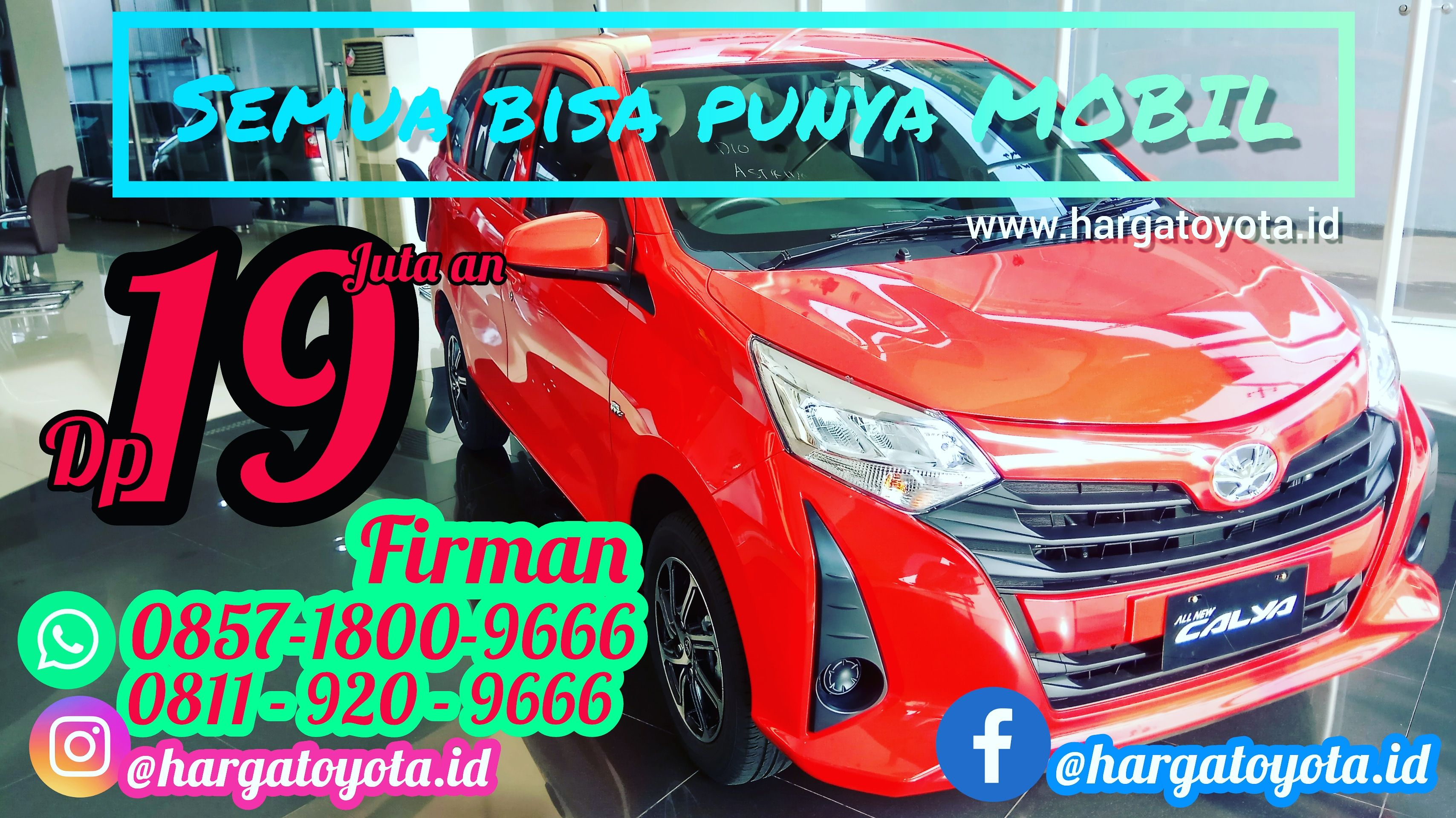 Toyota Jakarta Barat Promo Calya Dp 20% - Mobils.id di ...