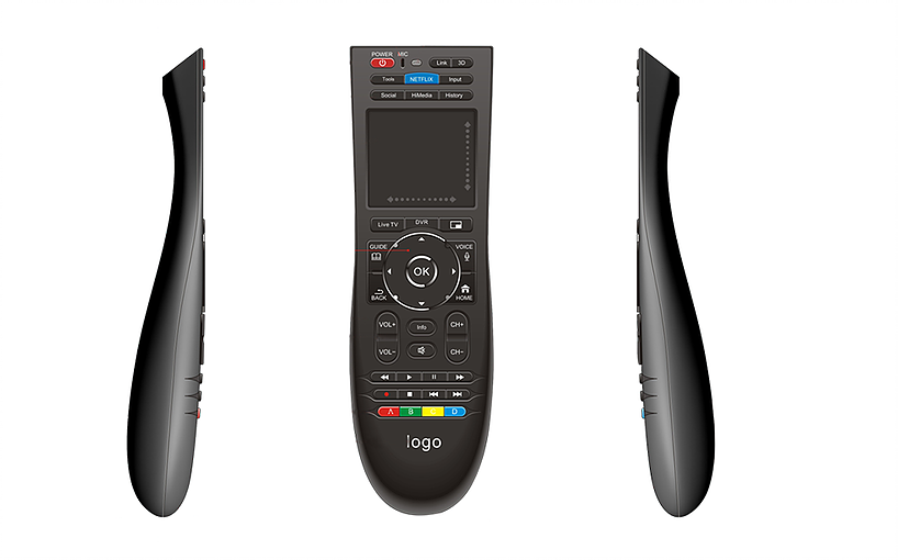 Custom Bluetooth Smart Tv Remote Control With Touchpad Dusun Tv Remote Controls Remote Control Tv Remote