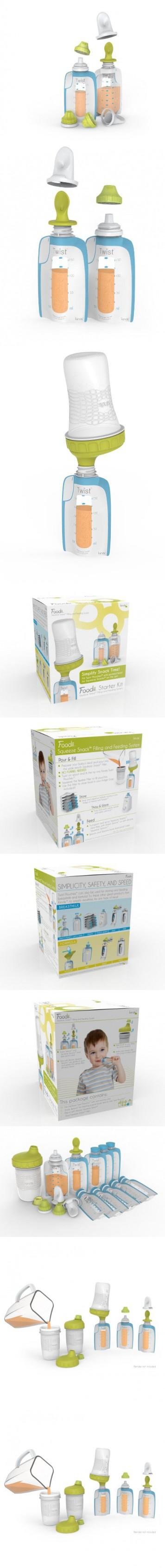 Kiinde Foodii Starter Kit