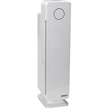 Germguardian Ac5350w Elite 4 In 1 Air Purifier With True Hepa Filter Uv C Sanitizer Captures Allergens Smoke Odors Mo Air Purifier Cool Things To Buy Hepa
