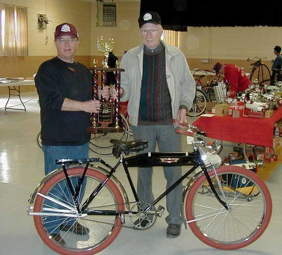 bicycle competition winner