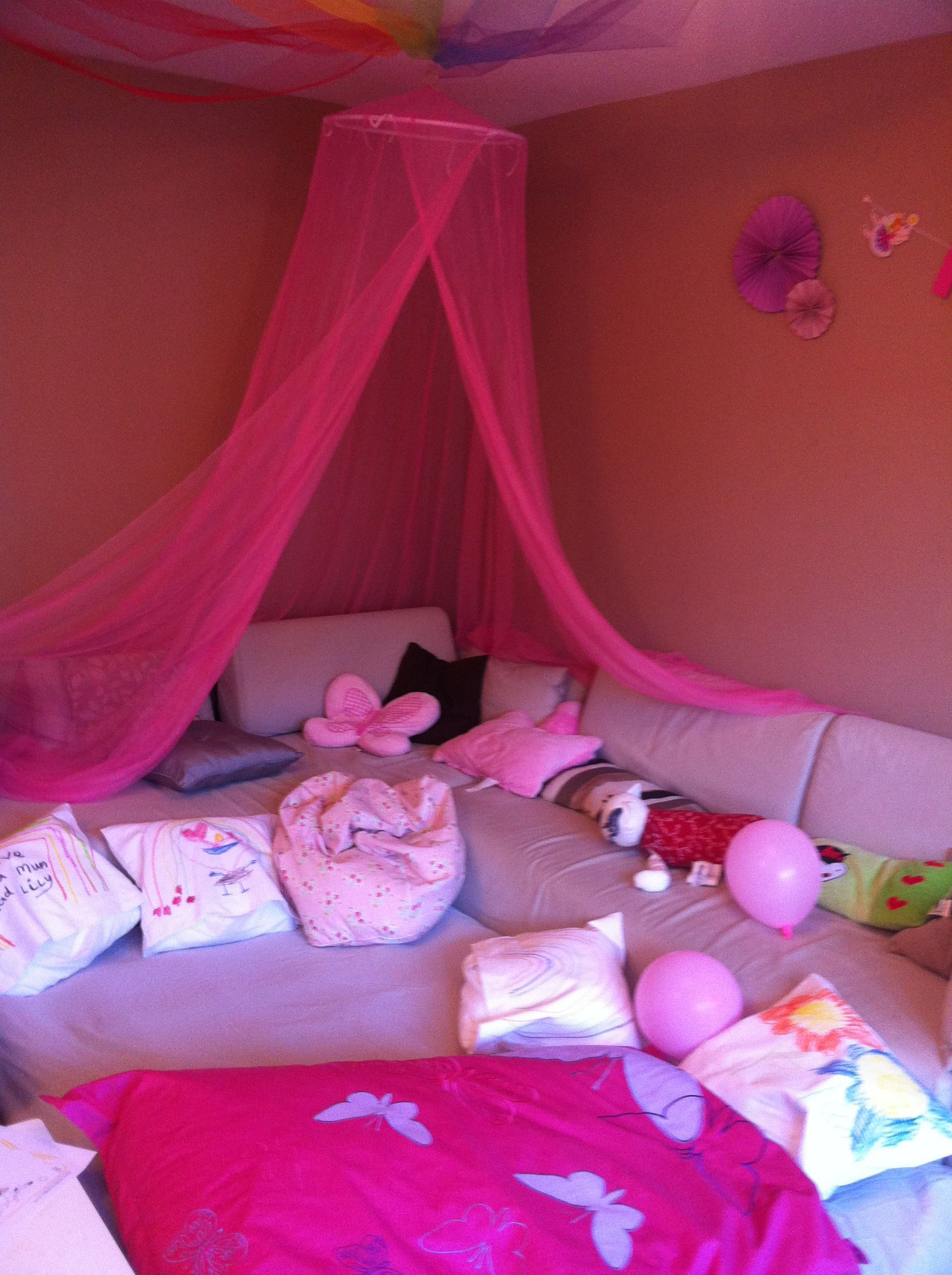 The Den Area For Rainbow Magic Film Amp Games After Food Used Some Leftover Netting From
