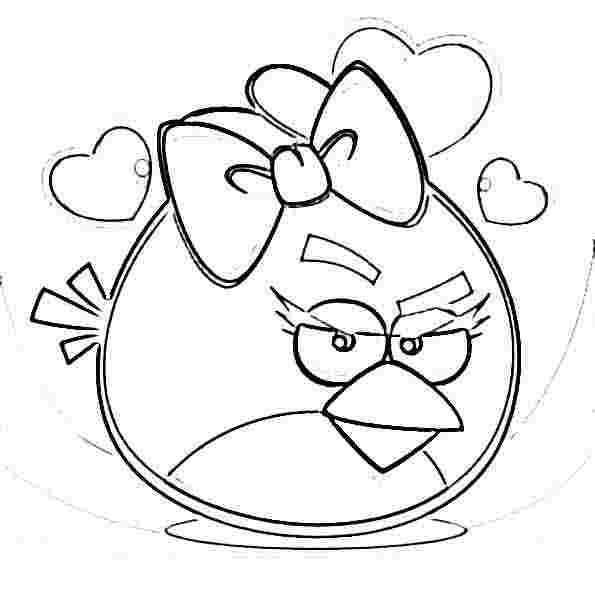 angry birds coloring pages | ANGRY BIRDS COLORING PAGES for kids and ...