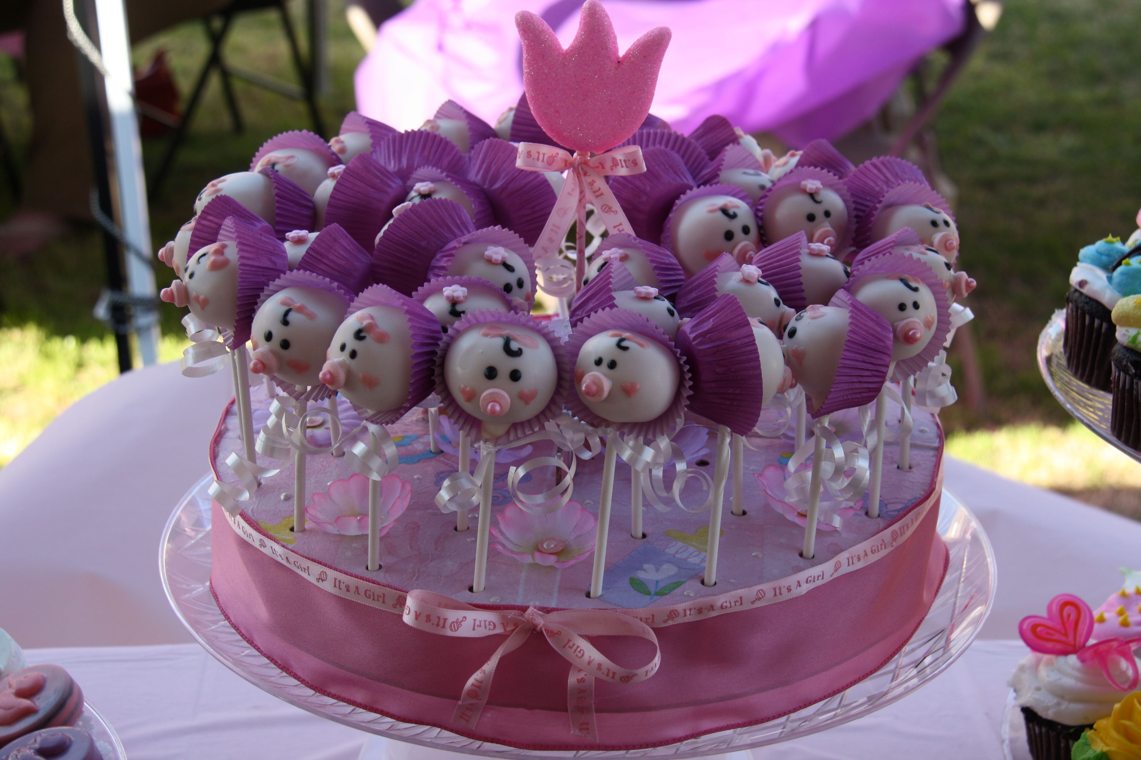 22++ Baby shower cake popsicles trends