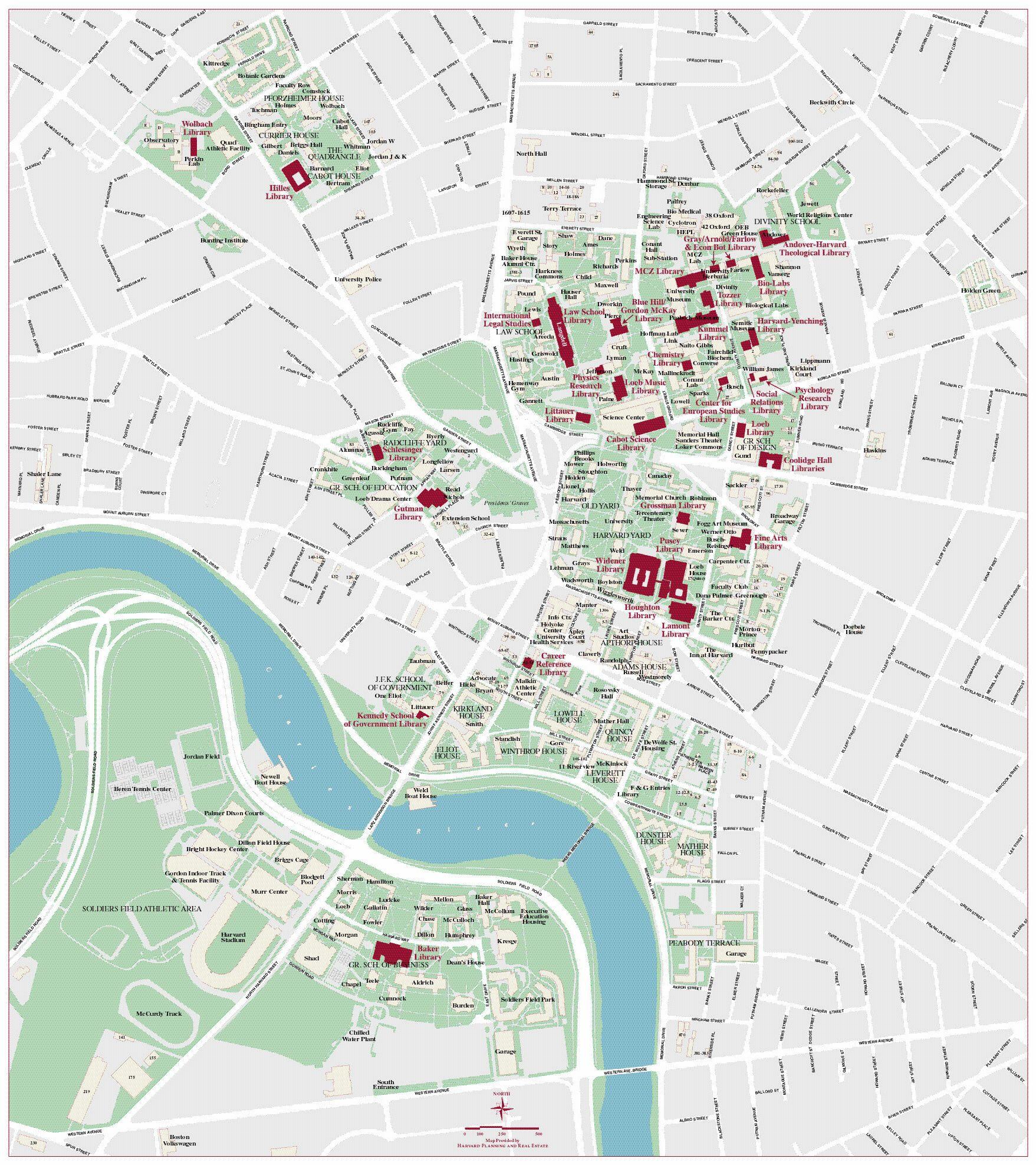 Harvard campus map | Campus map, Harvard campus, Advanced ...