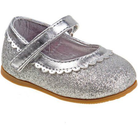 35f73131aa Josmo Infant Girls Mary Jane Dress Shoes, Size: 6, Silver | Products ...