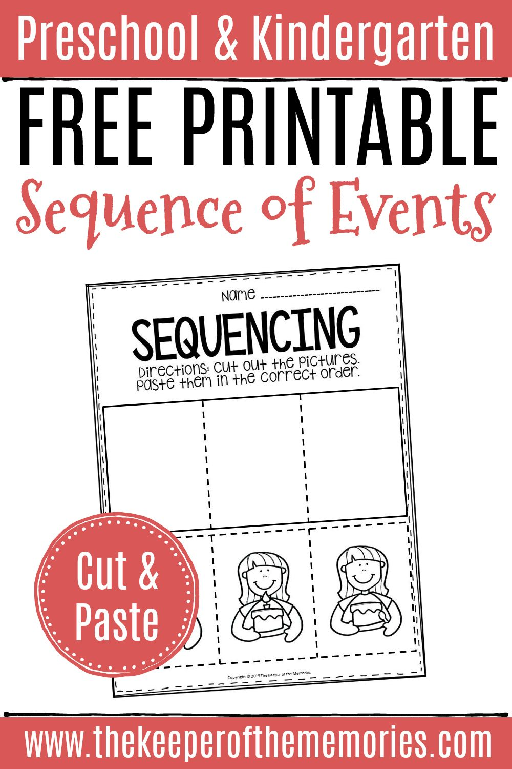Free Printable Sequence Of Events Worksheets Sequence Of Events