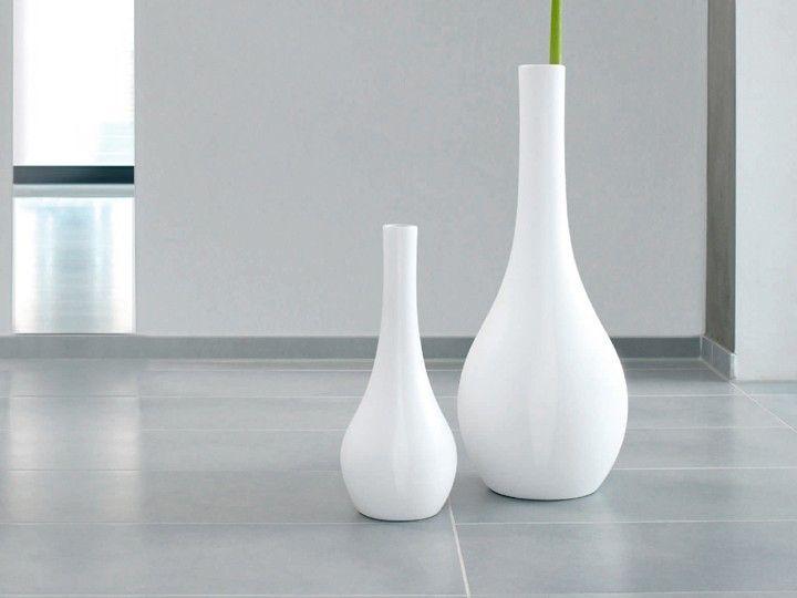 XL Vase Bodenvase groß ASA-Selection Weiß