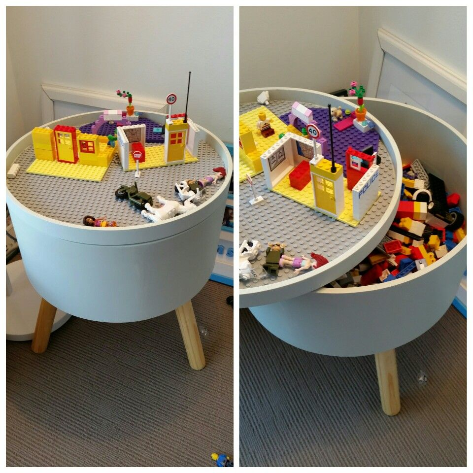 Kmart Lego Storage Tub Got A 29 And Large Plate 20