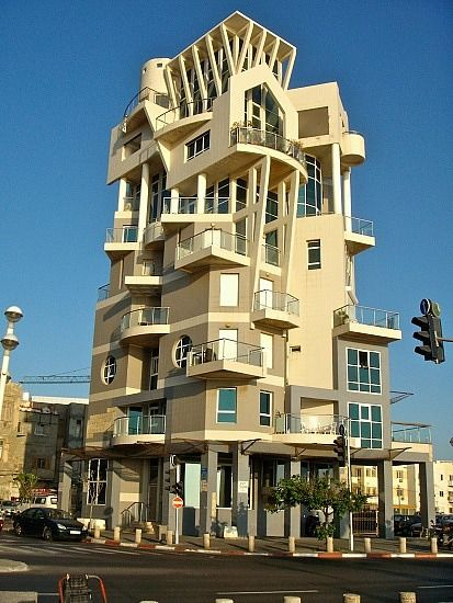 appartment building near tayelet tel aviv isral this would be a really kool house