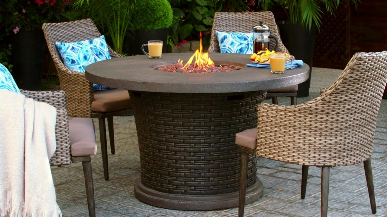 Canvas Highbury Gas Fire Table Gas Fire Table Fire Table