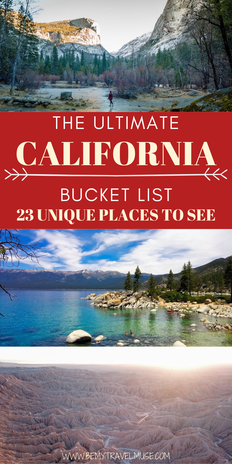 The Ultimate California Bucket List: 23 Places to
