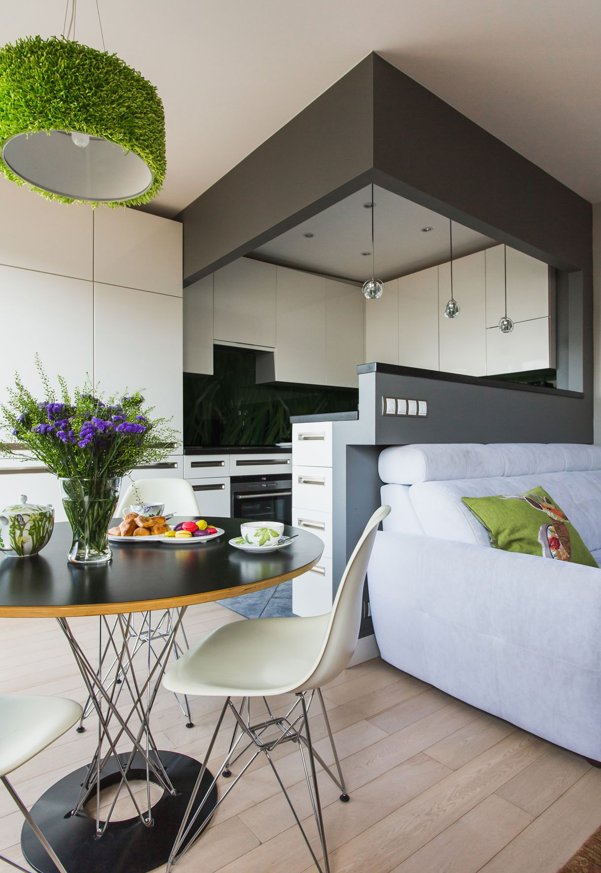 Open Space Be Masha Faynberg Design Small Flat Appartment