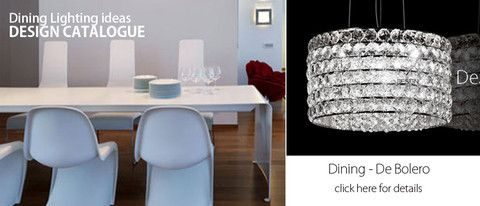 Create shining environment in your dining room using our Dining-De Bolero #Light.