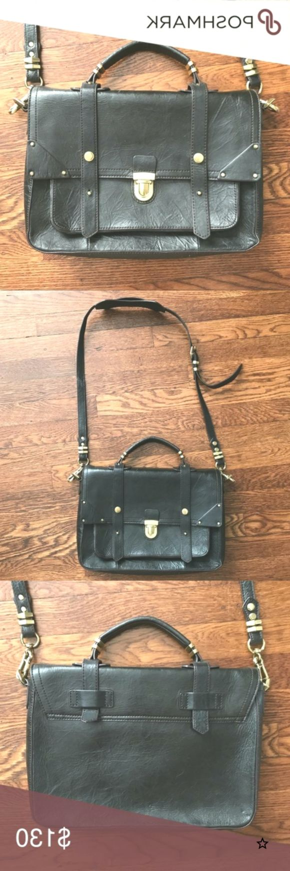 OrYanny Leather Bag Like new condition! Worn a few times. Real genuine espresso ...,