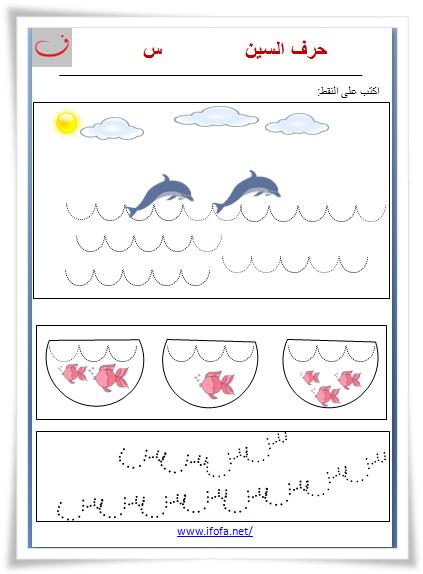 تدريبات على حرف السين في هذا الرابط Https 33b573e3 A 62cb3a1a S Sites Googlegroups Com Site Arabic Alphabet Letters Learn Arabic Alphabet Alphabet Preschool