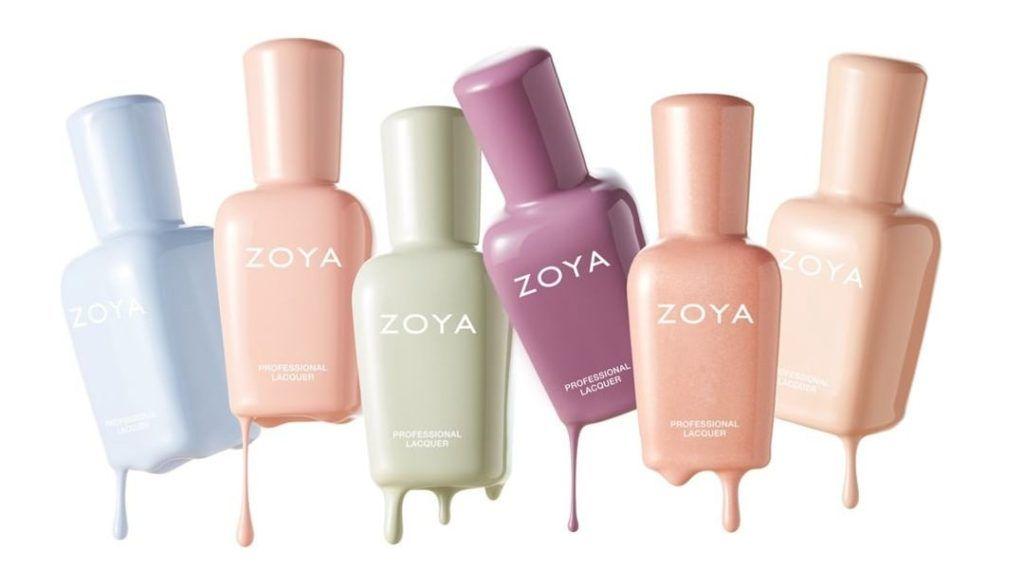 2020 Christmas Zoya Nail Polish Zoya Nail Polish Launches New Pastels 'Calm Collection' For Spring