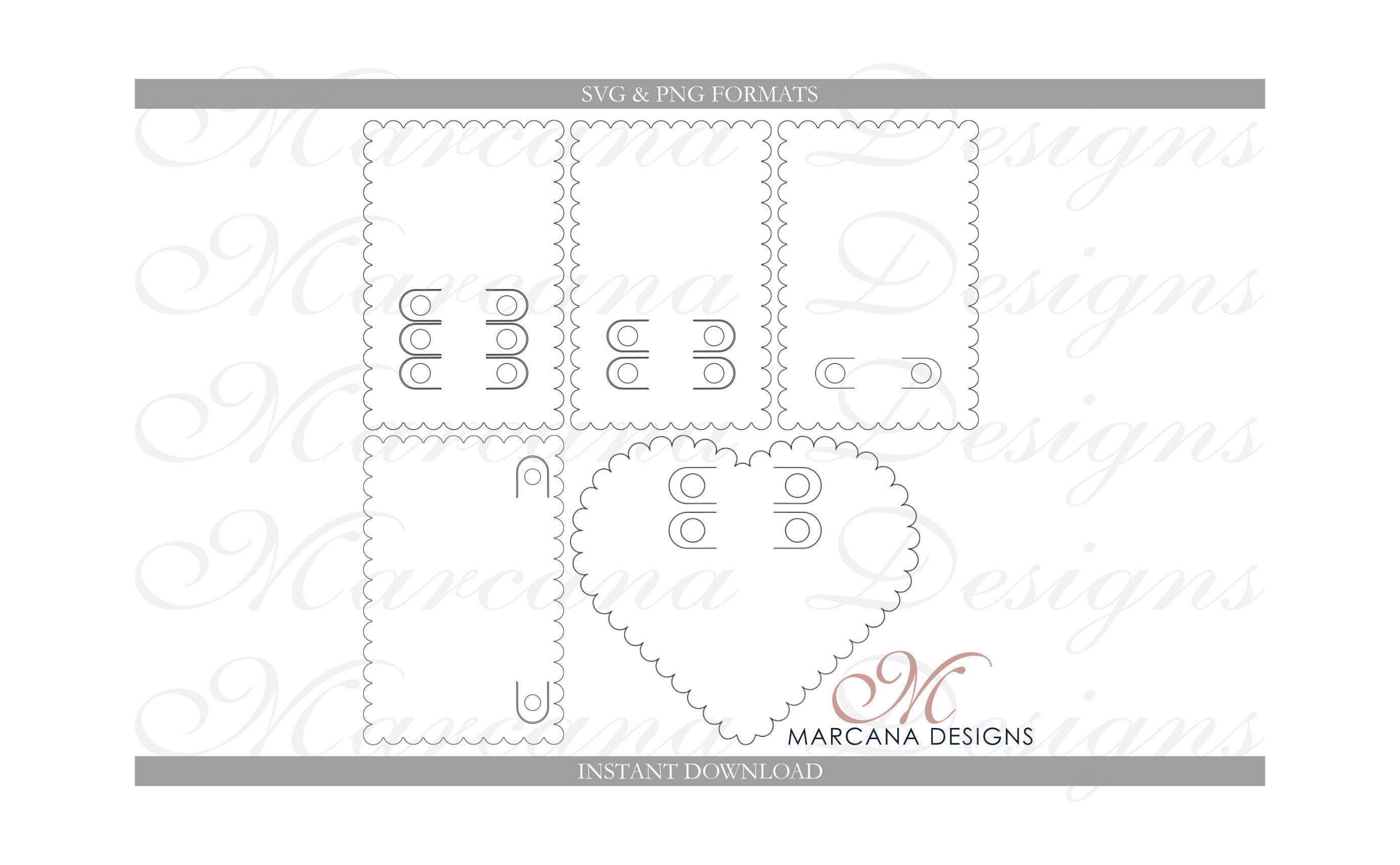 five pack svg valentine crayon card template coloring card