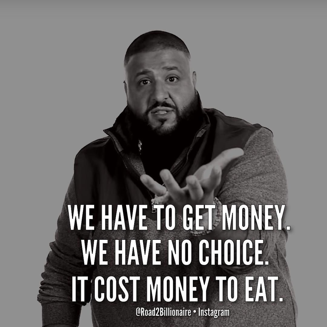 Major Djkhaled They Don T Want Us To Have To Breakfast Double Tap Tag A Dj Khaled Fan All Credit Great Person Quotes Dj Khaled Quotes Witty Quotes