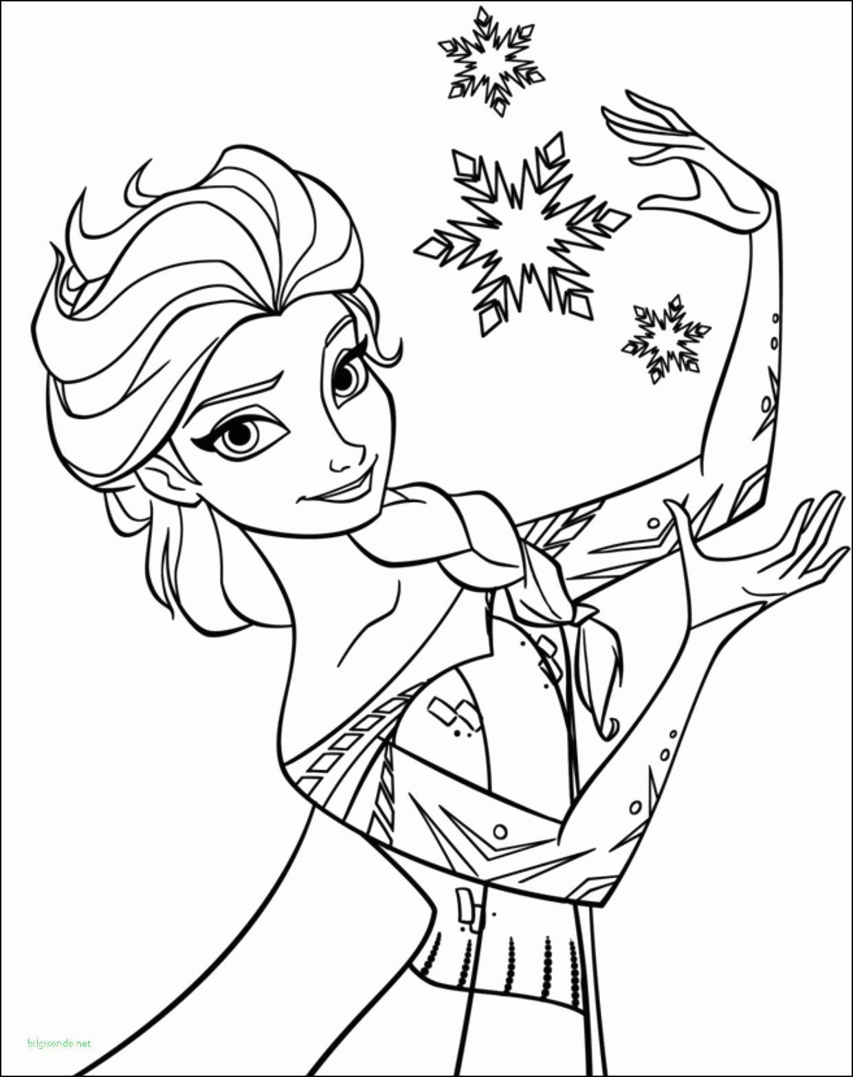 Disney Prinzessinnen Malvorlagen Elsa Halaman Mewarnai Buku Mewarnai Warna