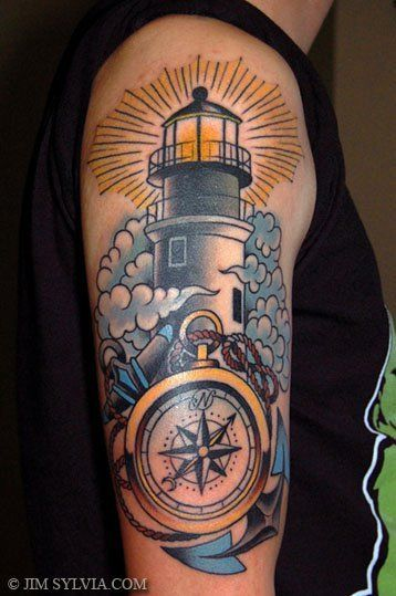Lighthouse Tattoo I Plan On Getting The Outter Banks Lighthouse On