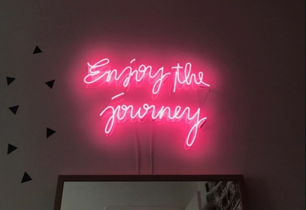 This Neon Is Designed By Scott Ryder We Can Customize Your Personalized Neon Lights Let Your Imagination Run Wi Neon Sign Bedroom Neon Signs Neon Wall Signs