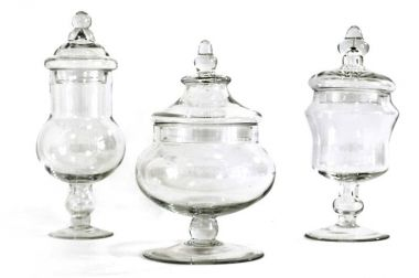 Decorative Glass Jars for lavender