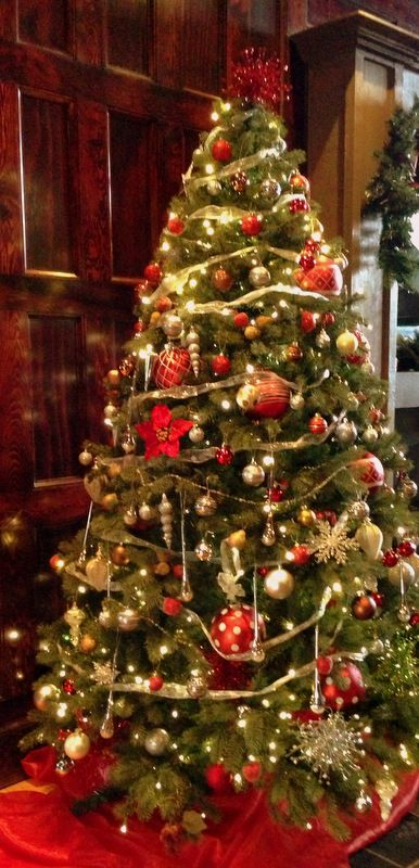 Our beautiful Christmas Tree - decorated by the staff at The English ...