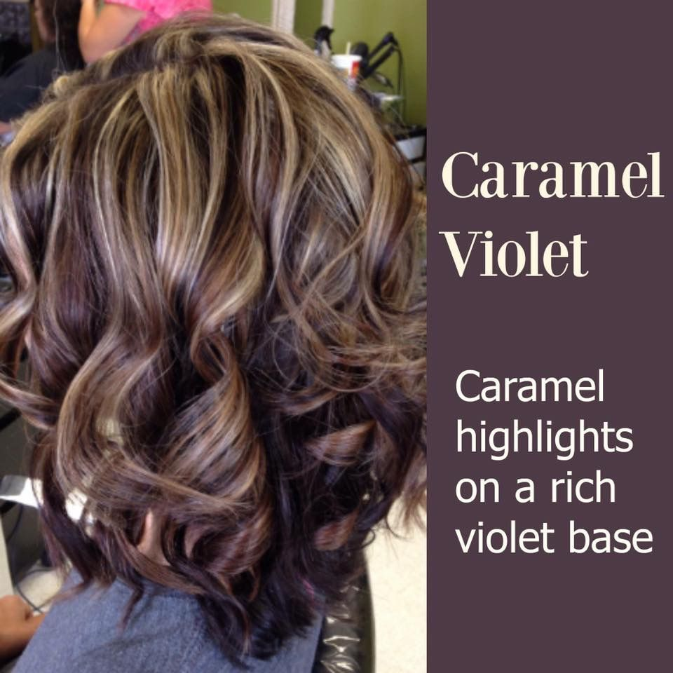 Caramel Violet Hair Pinterest Violets Caramel And Hair Coloring