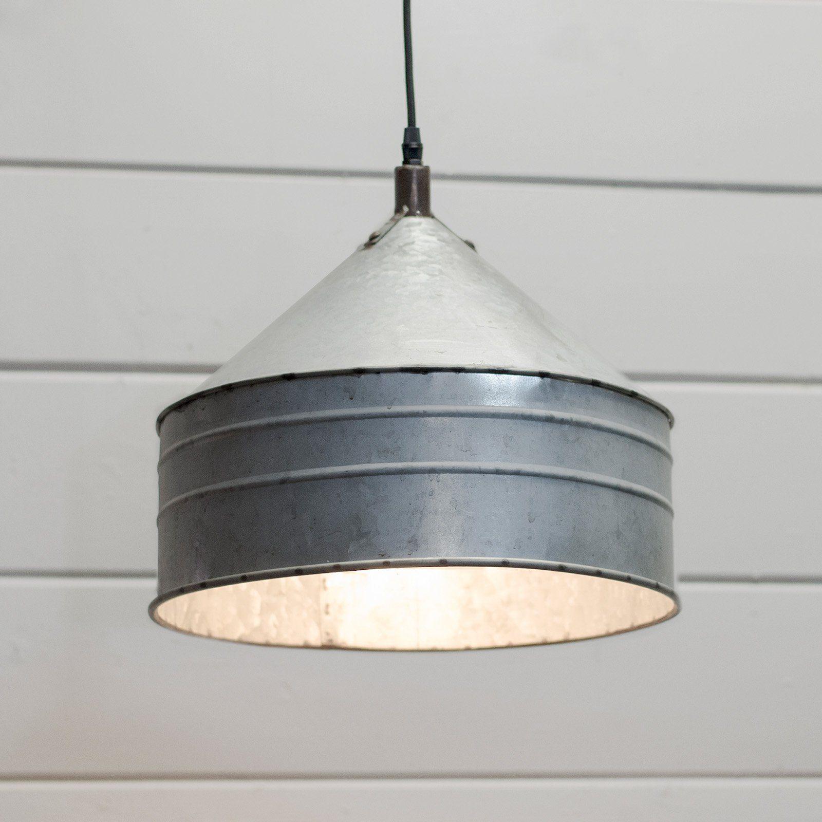 American mercantile ih1111 metal shade pendant light