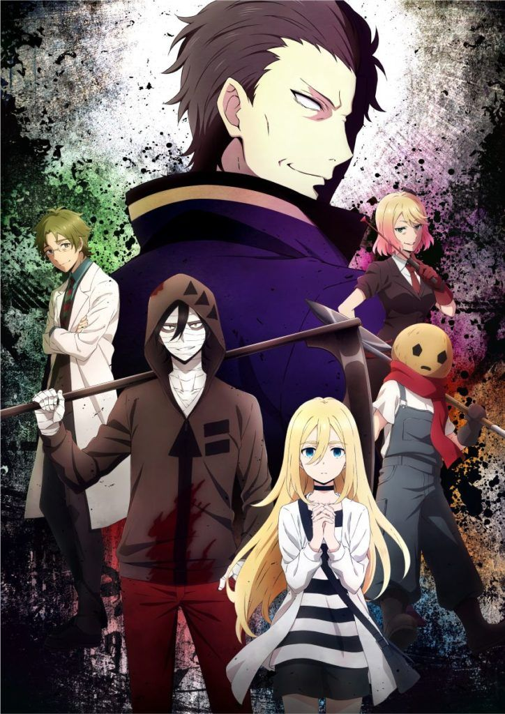 Photo of Angels of Death Website in New Design With Second Visual   MANGA.TOKYO