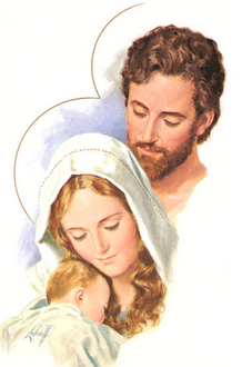The Holy Family (Luke 2:27)