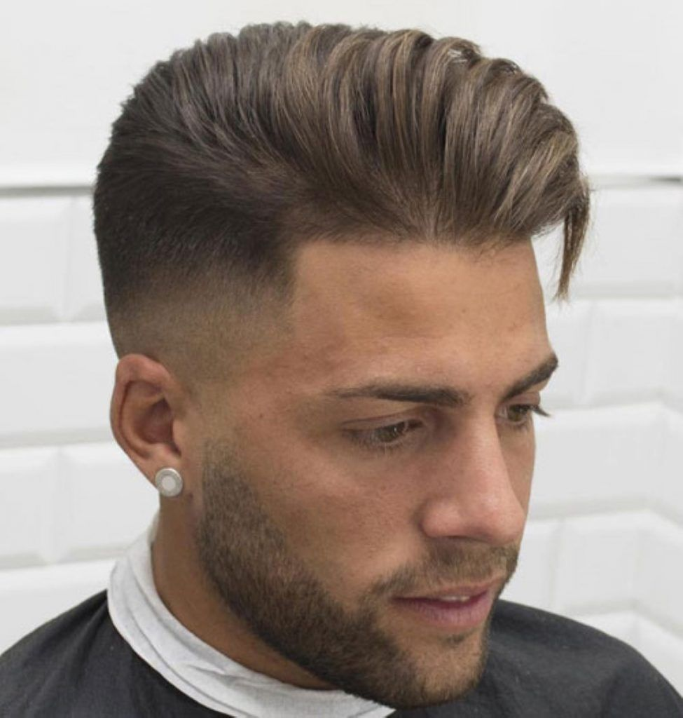 Haut De Haut De Fondu De Coupes De Cheveux Coiffure Homme Cheveux Masculins Coupe De Cheveux