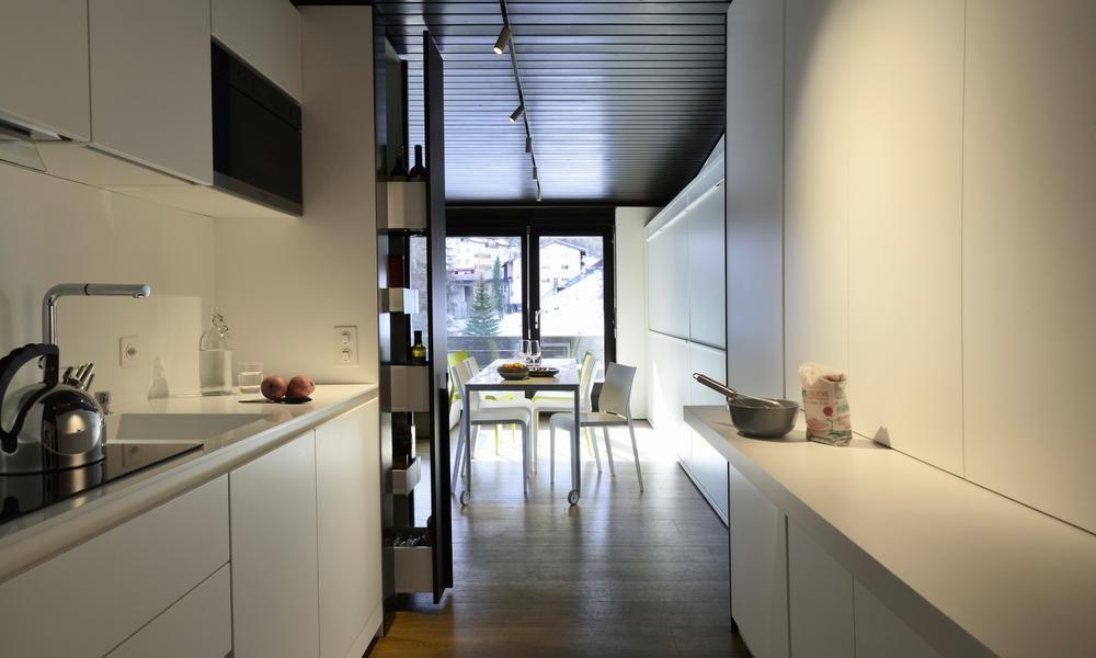 Kleine Küche einrichten Ideen für mehr Platz   DAS HAUS   Kleine küche einrichten, Küche ...