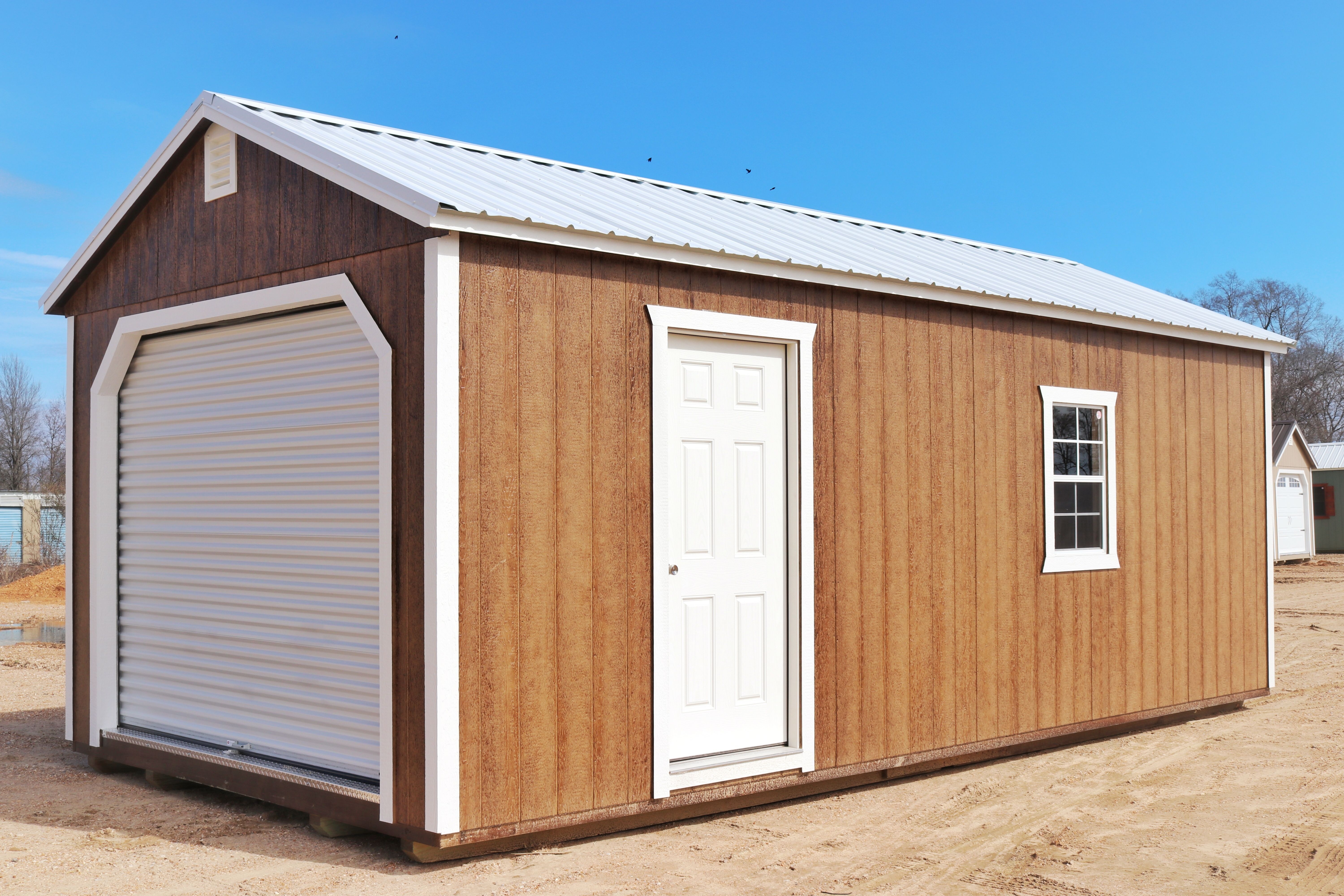 Upb Garages Portable Buildings Backyard Getaway Building