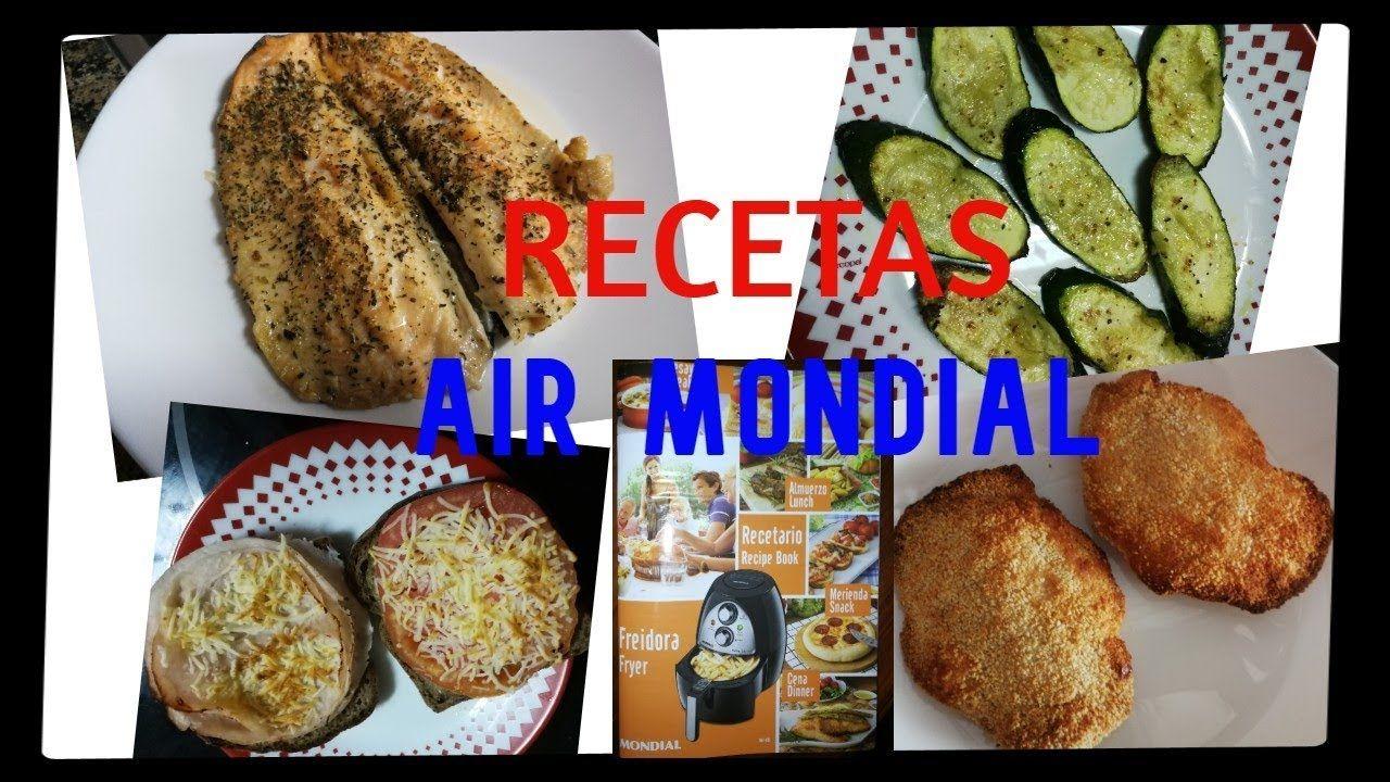 Recetas Con Freidora Sin Aceite Air Mondial Recetas Freidora Sin Aceite Freidora Comida Colombiana