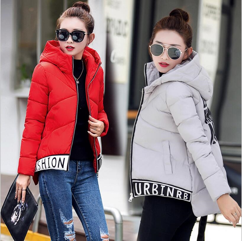 56.00$  Buy now - http://aliv1a.worldwells.pw/go.php?t=32742626135 - 2016 autumn and winter new short paragraph cotton coat small cotton jacket large code coat thickening down jacket women