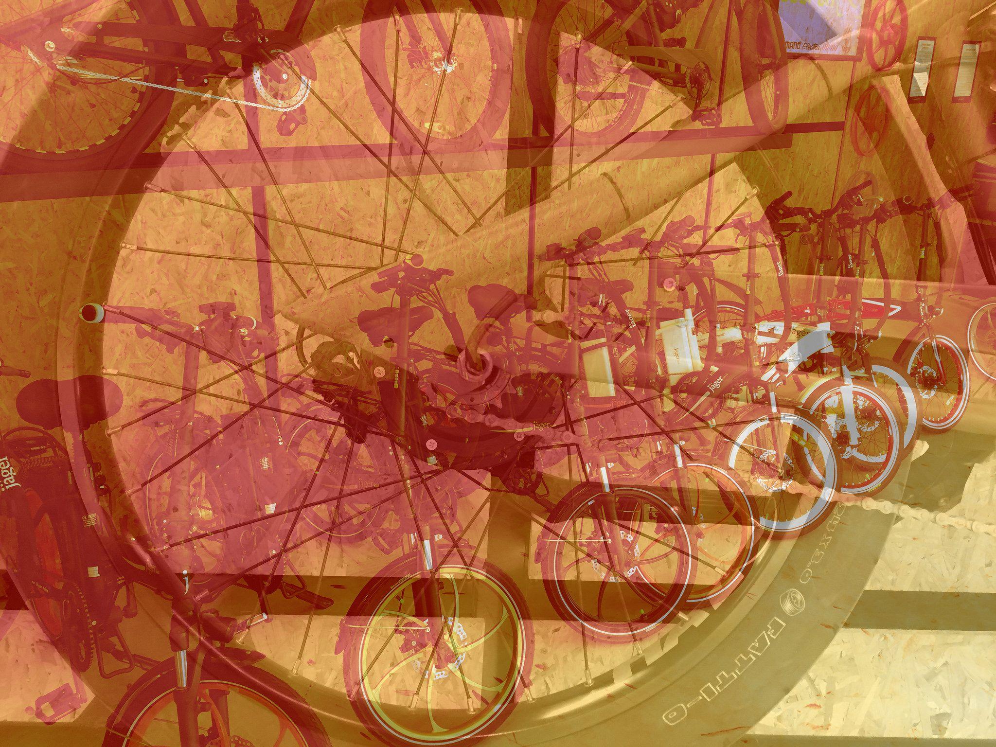 https://flic.kr/p/NhQbnV | אופניים חשמליות בעיצוב מושלם