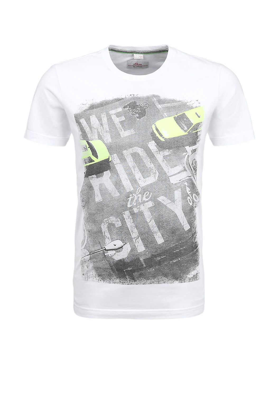 T Shirt Mit Urbanem Print Im S Oliver Online Shop Mens Tshirts T Shirt Boys Prints