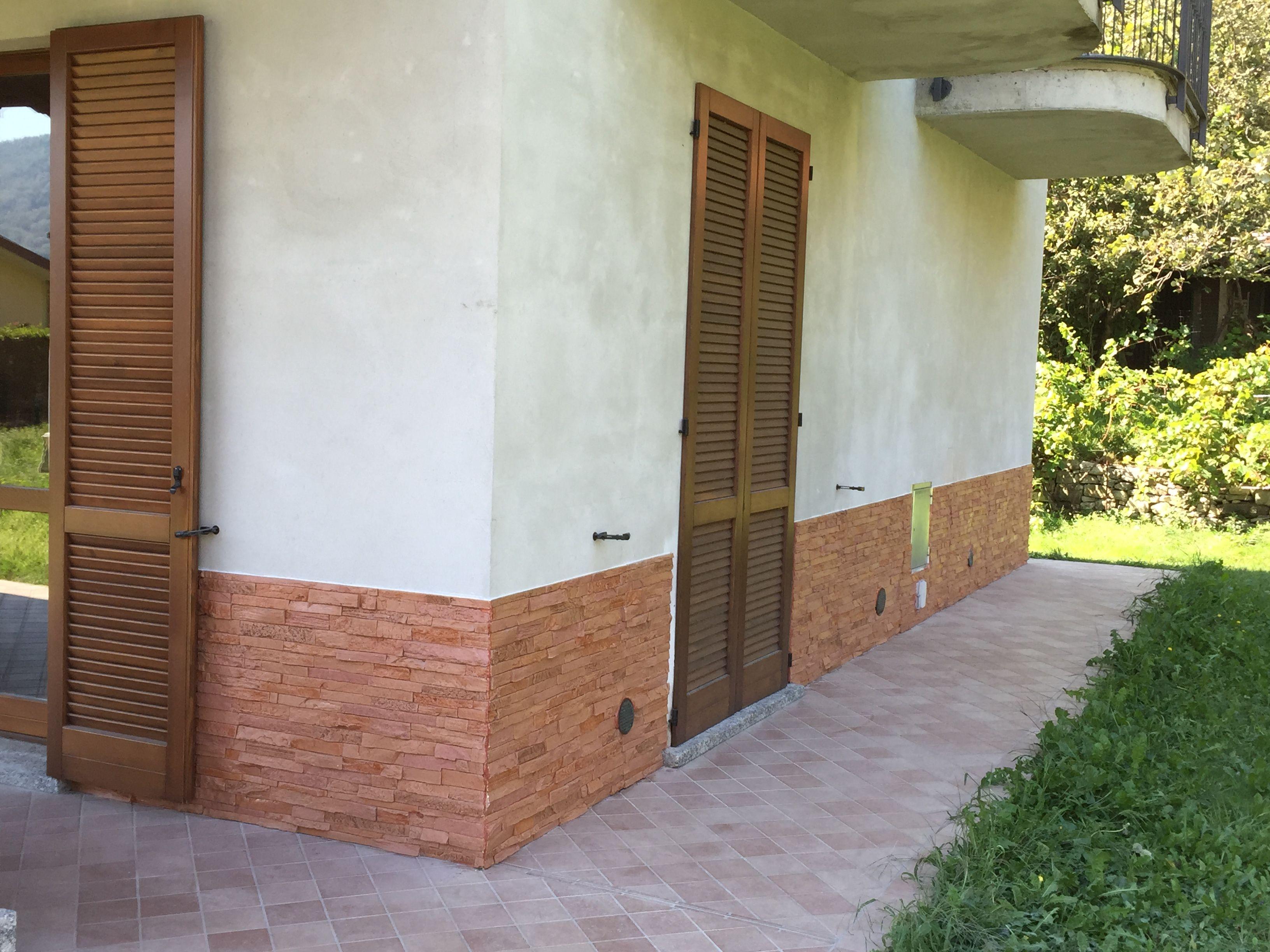 Scale Di Risalita Casa zoccolatura esterna traspirante per risalita contro l
