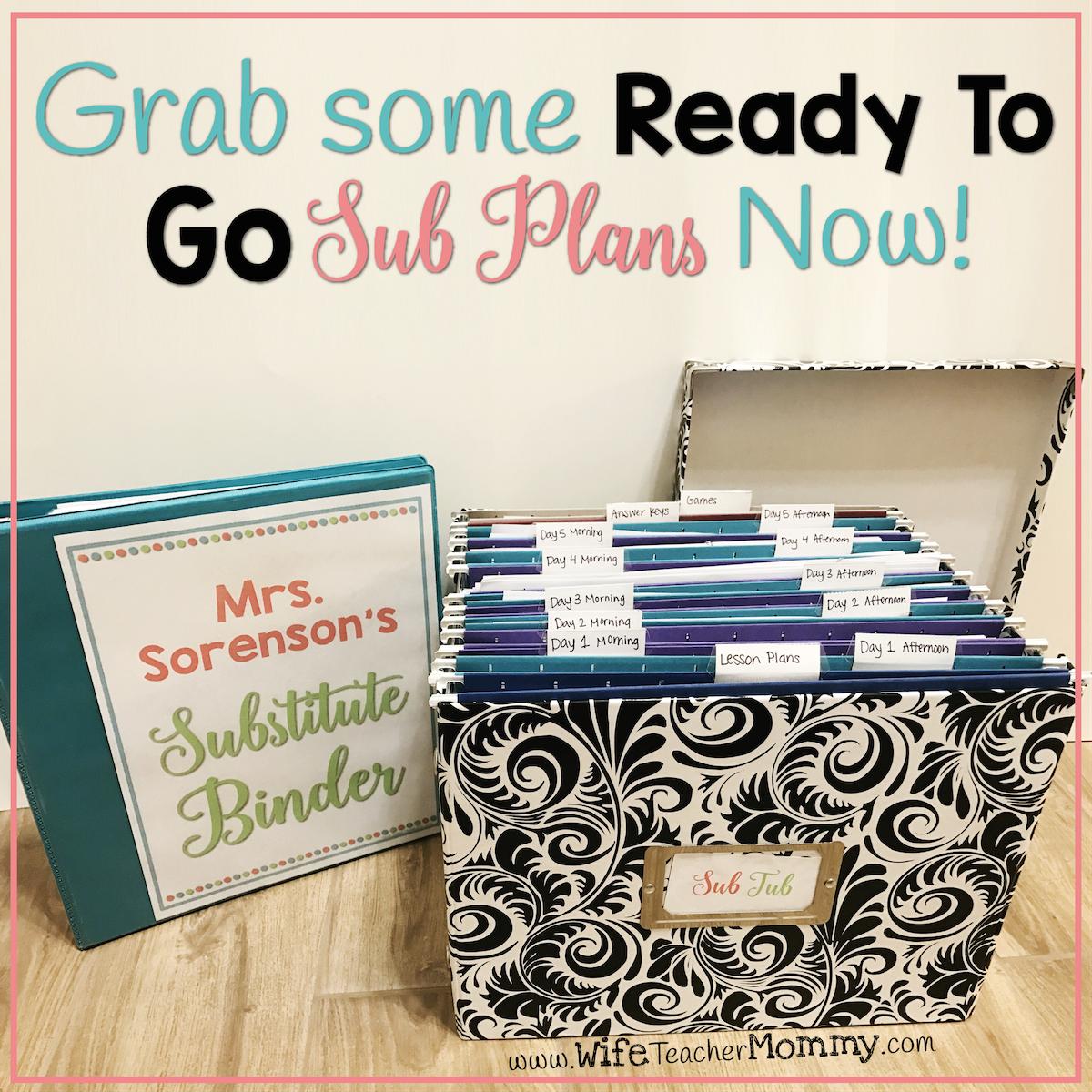 Organize Your Perfect Sub Tub