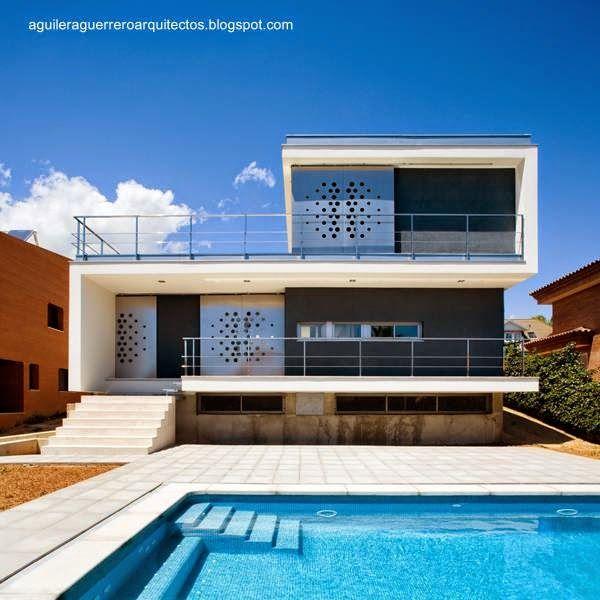14 Disenos De Casas Modernas En Espana Architecture House Architecture House Styles