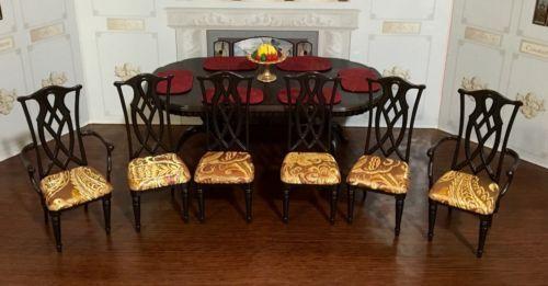 OOAK-Barbie-Doll-Diorama-Dining-room-Furniture Favorite artists - barbie wohnzimmer möbel