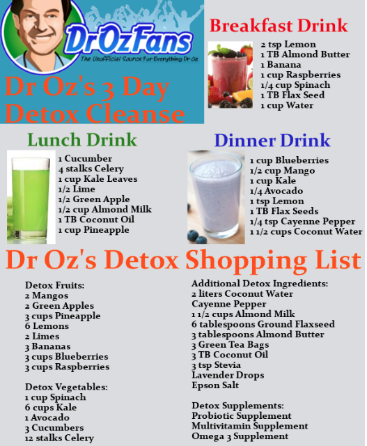 undefined | Health & Fitness | Detox cleanse drink, 3 day detox