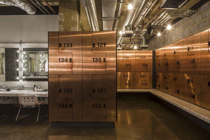 Locker Room, Rebel Gym, Studio C102, London