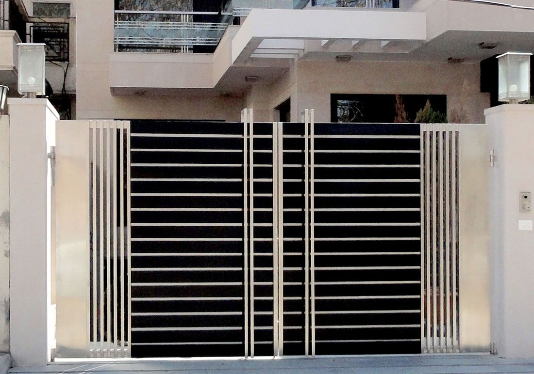 Gate Designs For Homes Manufacturers of highly durable stainless steel main gates for homes manufacturers of highly durable stainless steel main gates for homes offices commercial industrial places buy ss main gates from shri ram gril workwithnaturefo