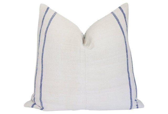 French Linen Monogramed Pillow https://www.onekingslane.com/shop/debra-hall-lifestyle