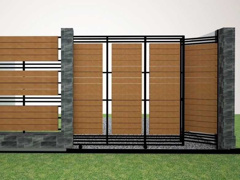 Inspiring Modern Fence Design For Minimalist House Part 34