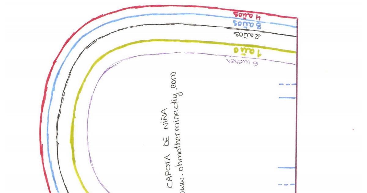 Patron capota de niña.pdf | clases | Pinterest | Niños, Ropa bebe y Bebe